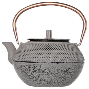 Shinto theepot grey and copper 1.2l