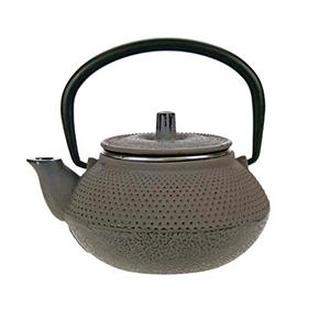 Kobe brown grey theepot 0.3L gietijzer filter TSP75