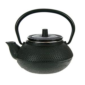 Kobe black theepot 0.3L gietijzer filter TSP68